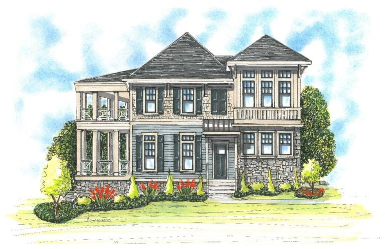 2015 Homearama Entry | Grand Award Recipient | Plan Design by Stonecroft Homes