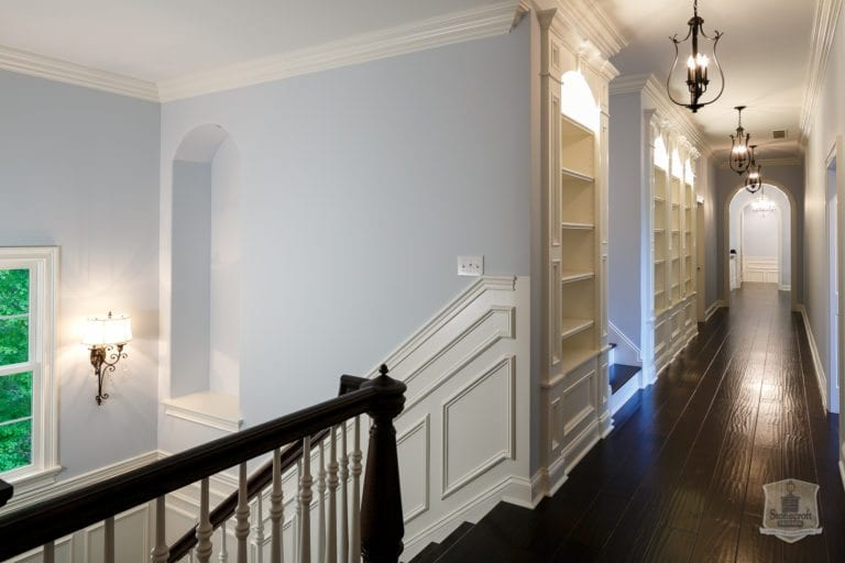 STAIR CASE   HALL WAY