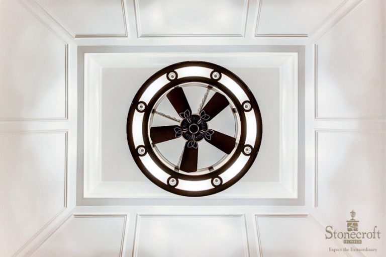 Stonecroft Homes | Paneled Ceiling
