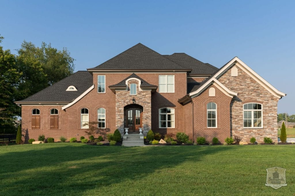 Image of European Designed Home by Stonecroft Homes