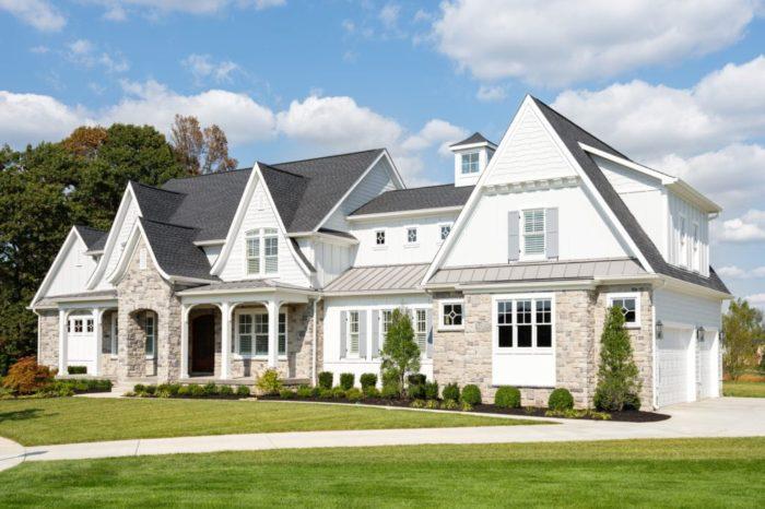 Farmhouse Design by Louisville Custom Builder Stonecroft Homes